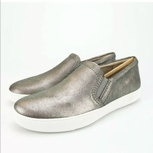 Naturalizer Marianne Pewter Suede Shoes